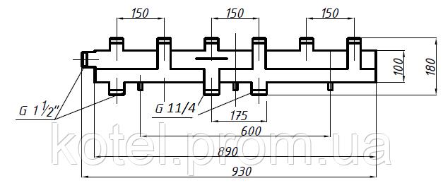 Схема коллектора СК 392.150