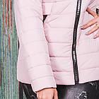 Весенняя женская куртка с капюшоном - модель 2019 - (кт-620), фото 2