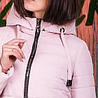 Весенняя женская куртка с капюшоном - модель 2019 - (кт-620), фото 4