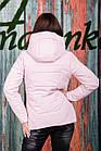 Весенняя женская куртка с капюшоном - модель 2019 - (кт-620), фото 5