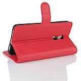 Чохол-книжка Bookmark для Xiaomi Redmi Note 4X red, фото 3
