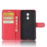 Чохол-книжка Bookmark для Xiaomi Redmi Note 4X red, фото 4