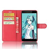 Чохол-книжка Bookmark для Xiaomi Redmi Note 4X red, фото 5