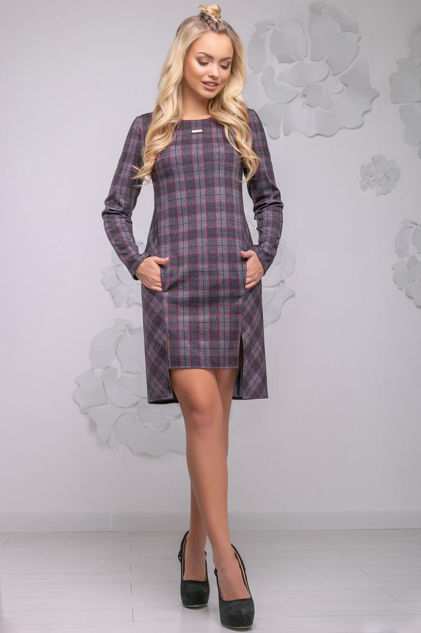 3405c331fac 🔹Короткое платье в класическом стиле   Размер M L XL XXL  P6А6В1 - 2774 -