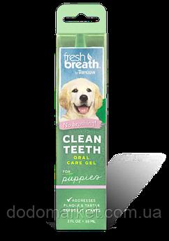 Гель для чистки зубов у щенков Тропиклин 59 мл