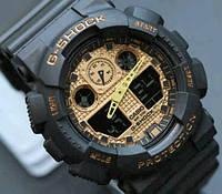 Часы Casio G-Shock black - gold
