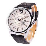 Часы мужские Curren Colorado black-sіlver-white, фото 4