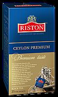"""Чай цейлонский Премиум  """"Riston"""" 25х2 г"""