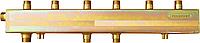 Распределительный одноблочный коллектор СК 392.150 на 4 контура