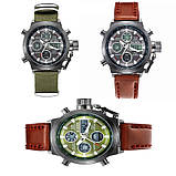 Часы мужские наручные AMST Biden nylon green , фото 2
