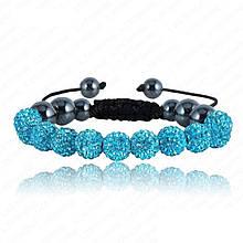 Браслет жіночий Шамбала SHAF0005 turquoise (бірюзовий)
