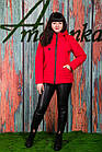 Весенняя женская куртка больших размеров - модель 2019 - (кт-423), фото 3