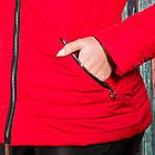 Весенняя женская куртка больших размеров - модель 2019 - (кт-423), фото 4