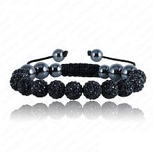 Браслет жіночий Шамбала SHAF0002 black (чорний)