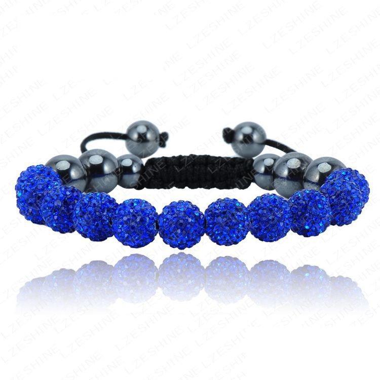 Браслет женский Шамбала SHAF0057 blue (синий)