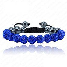 Браслет жіночий Шамбала SHAF0057 blue (синій)