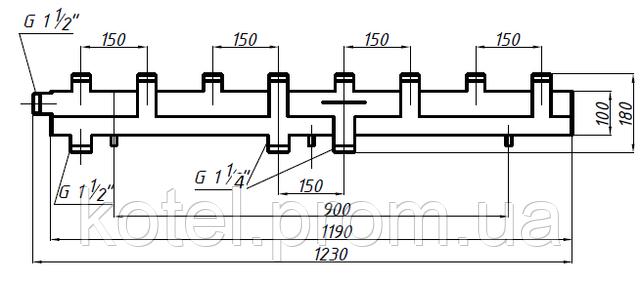 Схема коллектора СК 492.150 на 5 контуров