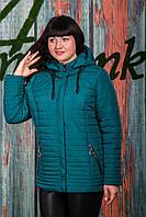 Женская ветровка больших размеров - модель 2019 - (кт-431), фото 1