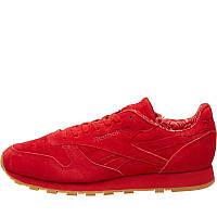 Мужские кожаные кроссовки Reebok Classics Leather Paisley Pack (BD3231) красные оригинал