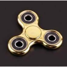 Спиннер вертушка Hand Spinner Metallic gold