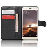 Чехол-книжка Bookmark для Xiaomi Mi4S black, фото 4