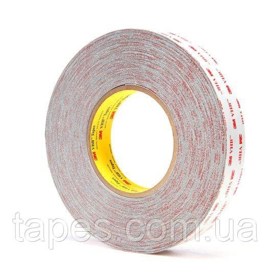 3M RP16 VHB Тонкий двухсторонний скотч серого цвета, толщина 0,4 мм, длина 66 м, ширина мм