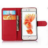Чехол-книжка Bookmark для iPhone 6 Plus/6s Plus red, фото 4