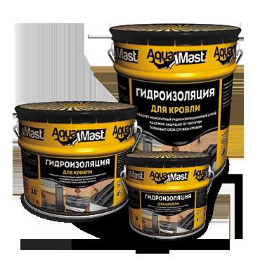 Мастика битумная для кровли AquaMast (3кг)