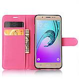 Чехол-книжка Bookmark для Samsung Galaxy J5 2016/J510 pink, фото 4