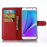 Чехол-книжка Bookmark для Samsung Galaxy A7 2016/A710 red, фото 3