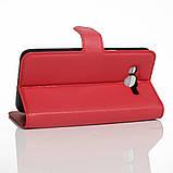 Чехол-книжка Bookmark для Samsung Galaxy J2 Prime red, фото 3