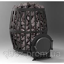 Печь для бани и сауны Canada Бочка 20 м.куб.( без выноса и без стекла), фото 3