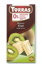 Шоколад Torras Blanco Kiwi белый 75 г