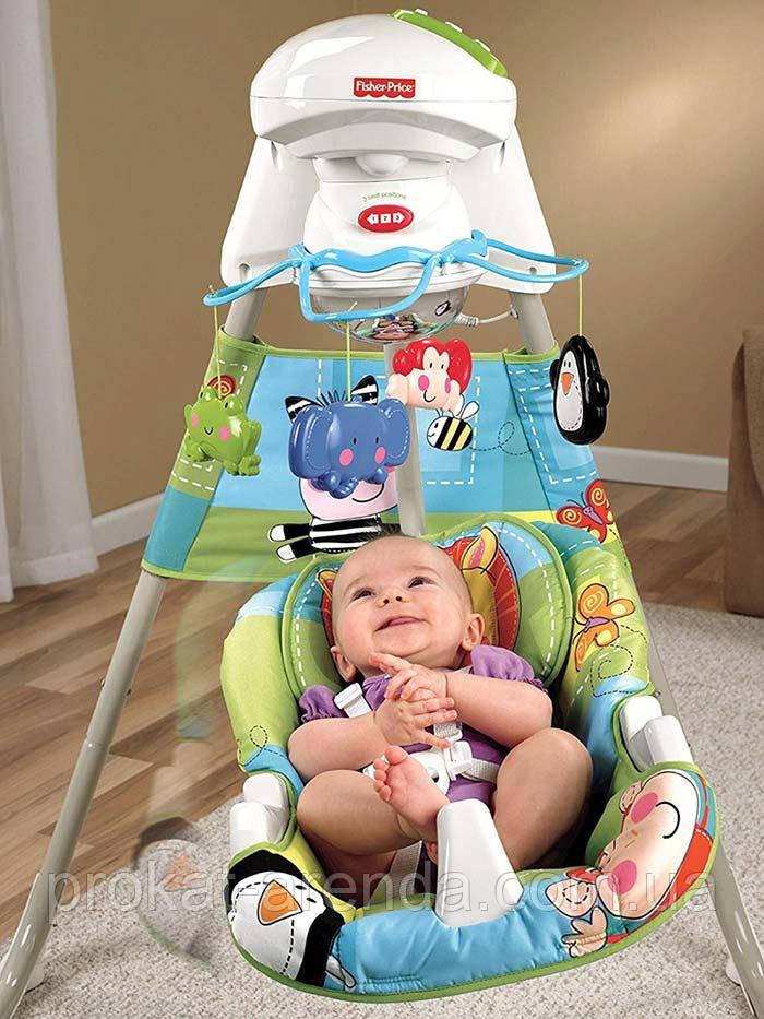 Укачивающий центр или люлька для младенцев Fisher-Price Новые открытия