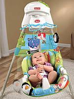 Укачивающий центр или люлька для младенцев Fisher-Price Новые открытия, фото 1