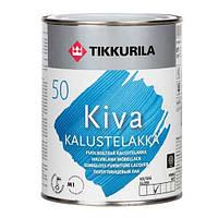 Лак Kiva Tikkurila для дерева п/гл Кива, 2.7л