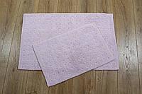 Набор ковриков для ванной хлопок 55х85+40х60 IRYA Esta Pembe розовый