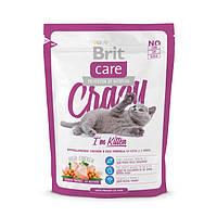 Brit Care(Брит Кеа) Cat Crazy Kitten - корм для котят (курица рис), 0.400г