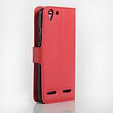 Чехол-книжка Bookmark для Lenovo K5 red, фото 2