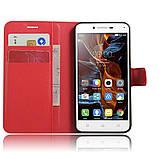 Чехол-книжка Bookmark для Lenovo K5 red, фото 4