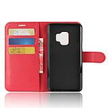 Чехол-книжка Bookmark для Samsung Galaxy S9/G960 red, фото 4