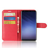 Чохол-книжка Bookmark для Samsung Galaxy S9 Plus/G965 red, фото 5