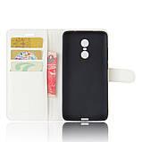 Чехол-книжка Bookmark для Xiaomi Redmi Note 4X white, фото 4
