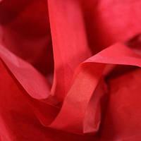 Папиросная бумага тишью красная 50 х 70 см