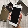 Силиконовый зеркальный чехол на iPhone 8 plus, фото 4
