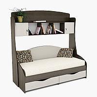 Кровать детская Горизонт с надстройкой ПК - 1, фото 1
