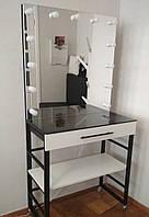 Робоче місце візажиста, столик з дзеркалом