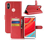 Чехол-книжка Bookmark для Xiaomi Redmi S2 red, фото 6