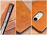 Чехол-книжка MOFI Vintage Series для Xiaomi Redmi Note 4X gray, фото 3