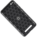 Силиконовый чехол Sirius Metal Ring для Xiaomi Redmi 4A black, фото 4